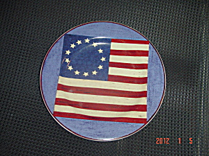 Sakura Warren Kimble Brandon House Spirit Of The Flag Salad 4