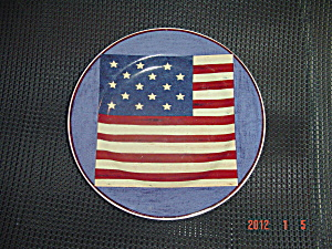 Sakura Warren Kimble Brandon House Spirit Of The Flag Salad 2