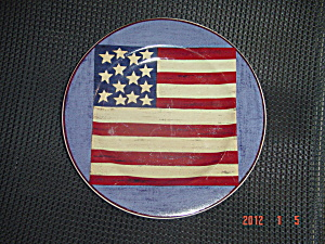 Sakura Warren Kimble Brandon House Spirit Of The Flag Salad 1