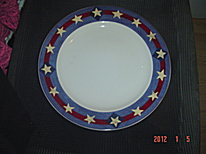 Sakura William Kimble Brandon House Spirit Of The Flag Dinner Plates