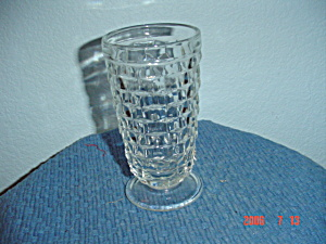 Indiana Glass Fostoria Whitehall Crystal/clear Flared Iced Tea Glasses