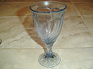 Noritake Sweet Swirl Light Blue Water Goblets/glasses