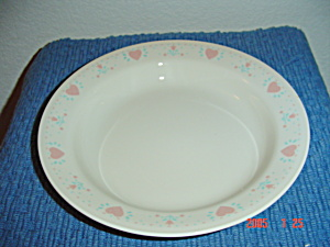 Corelle Forever Yours Flat Rimmed Soup Bowls (Image1)