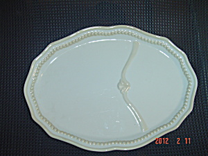 Princess House Pavillion Oval Platter