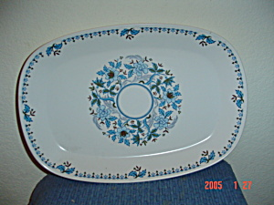 Noritake Progression Blue Moon Oval Platter