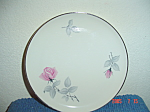 Syracuse China Bridal Rose Dinner Plates
