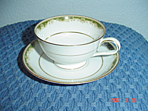 Noritake Warrington Footed Cups And Saucer Sets