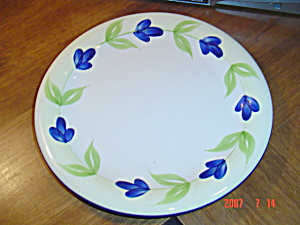 Dansk Blue Flower Stoneware Dan 143 Chargers (Image1)
