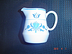 Noritake Progression Blue Haven Creamer