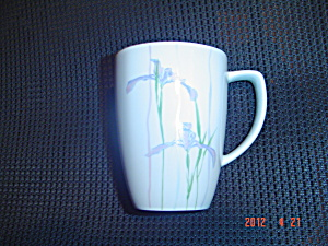 Corelle Shadow Iris Tall Mugs Stoneware