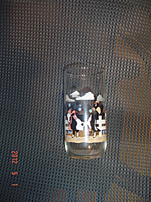Libbey Cow Drinking Iced Tea Glasses/tumblers 5.75 In.