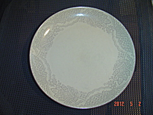 222 Fifth Chandi Vanilla Dinner Plates