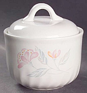 Corelle Pink Trio Covered Sugar Bowl (Image1)