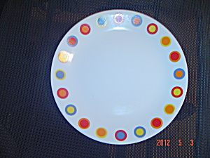 Brand New Corelle Hot Dots Salad Plates