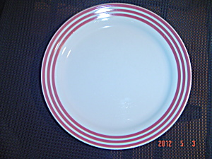 Corelle Rose Rainbow Salad Plates