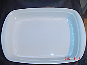 Corning French White Rectangular Baker