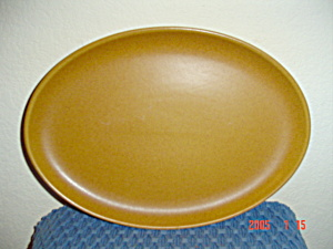 Denby Rams Head Golden Brown/Canterbury Sm Oval Platter (Image1)