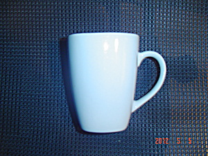 Corning Hearthstone White Square Black Interior Tall Mugs