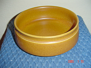 Denby Rams Head Golden Brown/canterbury Serving Bowls