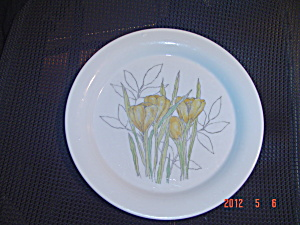 Dansk Designs Crocus Salad/lunch Plates