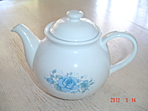 Corelle Blue Velvet Stoneware Tea Pot