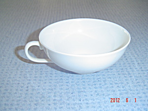 Vintage Franciscan El Patio Ivory Glossy Flat Cups