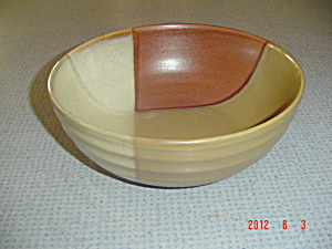 Sango Gold Dust Sienna Serving Bowl