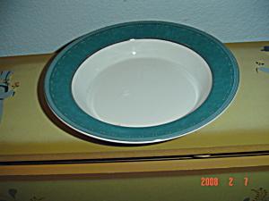 Dansk Gridworks Green Rimmed Soup Bowls (Image1)