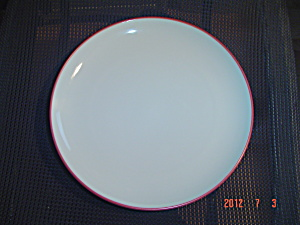 Noritake Colorwave Raspberry Dinner Plates