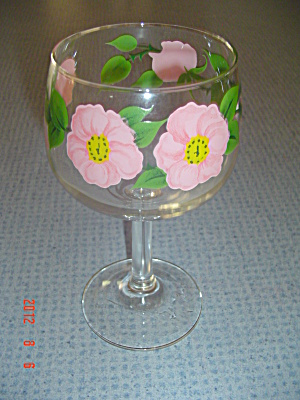 Franciscan Desert Rose All Purpose Stemmed Goblet 8 Oz.