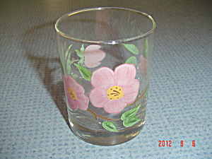 Franciscan Desert Rose Double Old Fashioned Glasses 12 Oz.