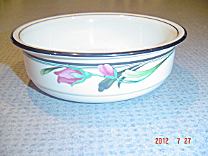 Lenox Midnight Blossom Soup/cereal Bowls