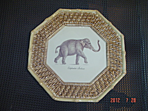 Raymond Waites Certified International Empire Elephantus Octagon Plate (Image1)