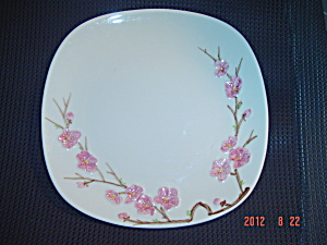 Vintage Metlox Poppytrail Peach Blossom Dinner Plates (Image1)