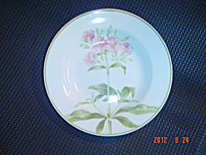 Tienshan Folk Craft Pink Flower (Hydrangea) Soup Bowls