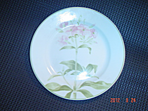 Tienshan Folk Craft Pink Flower (Hydrangea) Dinner Plates (Image1)