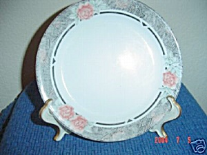 Corelle Silk And Roses Dinner Plates