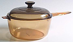 Visions 2 Quart Covered Saucepan