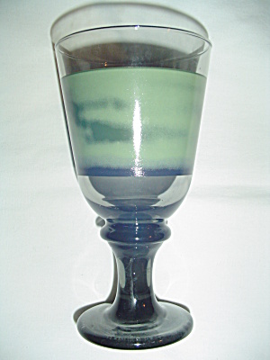 Sango Nova Green Water Goblets By Libbey