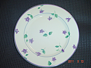 Waverly Sweet Violets Salad Plates