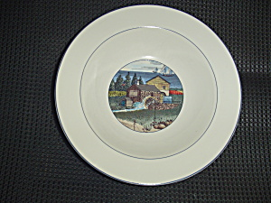 Noritake Epoch Pioneer Bay Rimmed Soup Bowls (Image1)