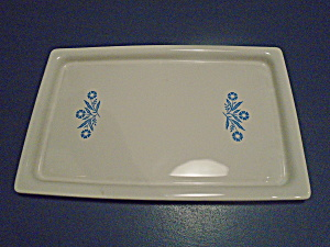 Corning Ware Cornflower Tray