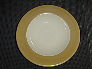 Tabletops Unlimited Parizzi Tan Rimmed Soup/Salad/Pasta Bowls (Image1)