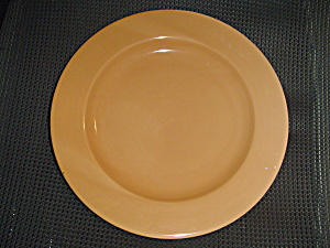 Martha Stewart Solid Peach Dinner Plates (Image1)