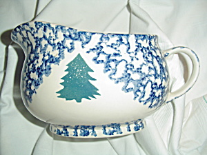 Tienshan Cabin In The Snow Gravy Boat