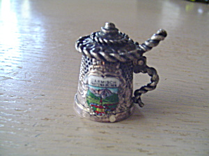 Metal Thimble from Garmisch Partenkirchen - Germany (Image1)