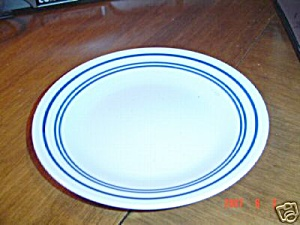 Corelle Classic Cafe Blue Lunch Plates