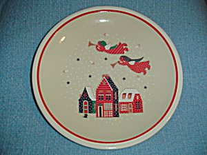 Noritake Epoch Holiday Joy Chop Plate Or Round Platter