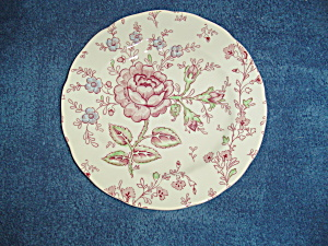 Johnson Bros Rose Chintz Bread And Butter Plates
