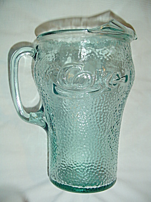Coca Cola Coke Green Mint Serving Pitcher